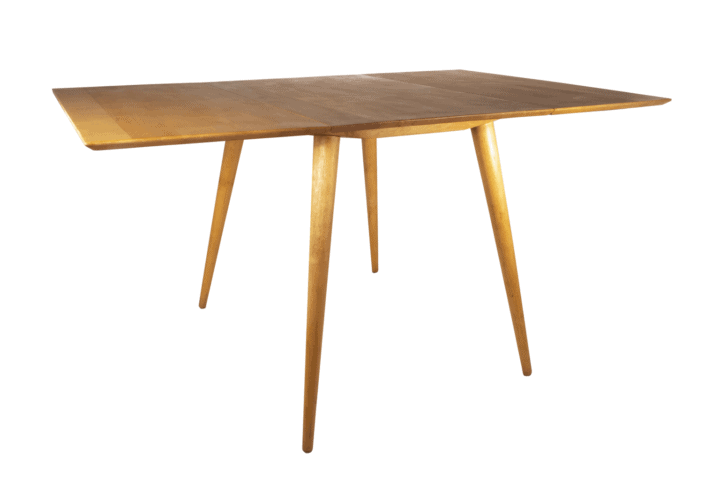 Paul McCobb drop leaf dining table, Planner Group.