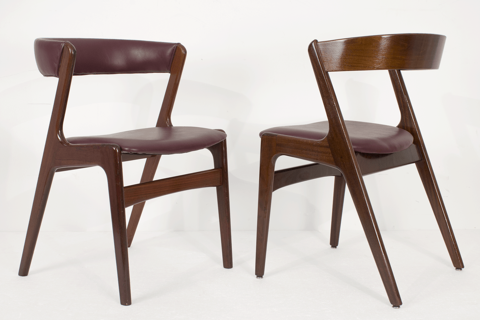 Kai Kristiansen Dining Room Chairs 6 Midmod Decor