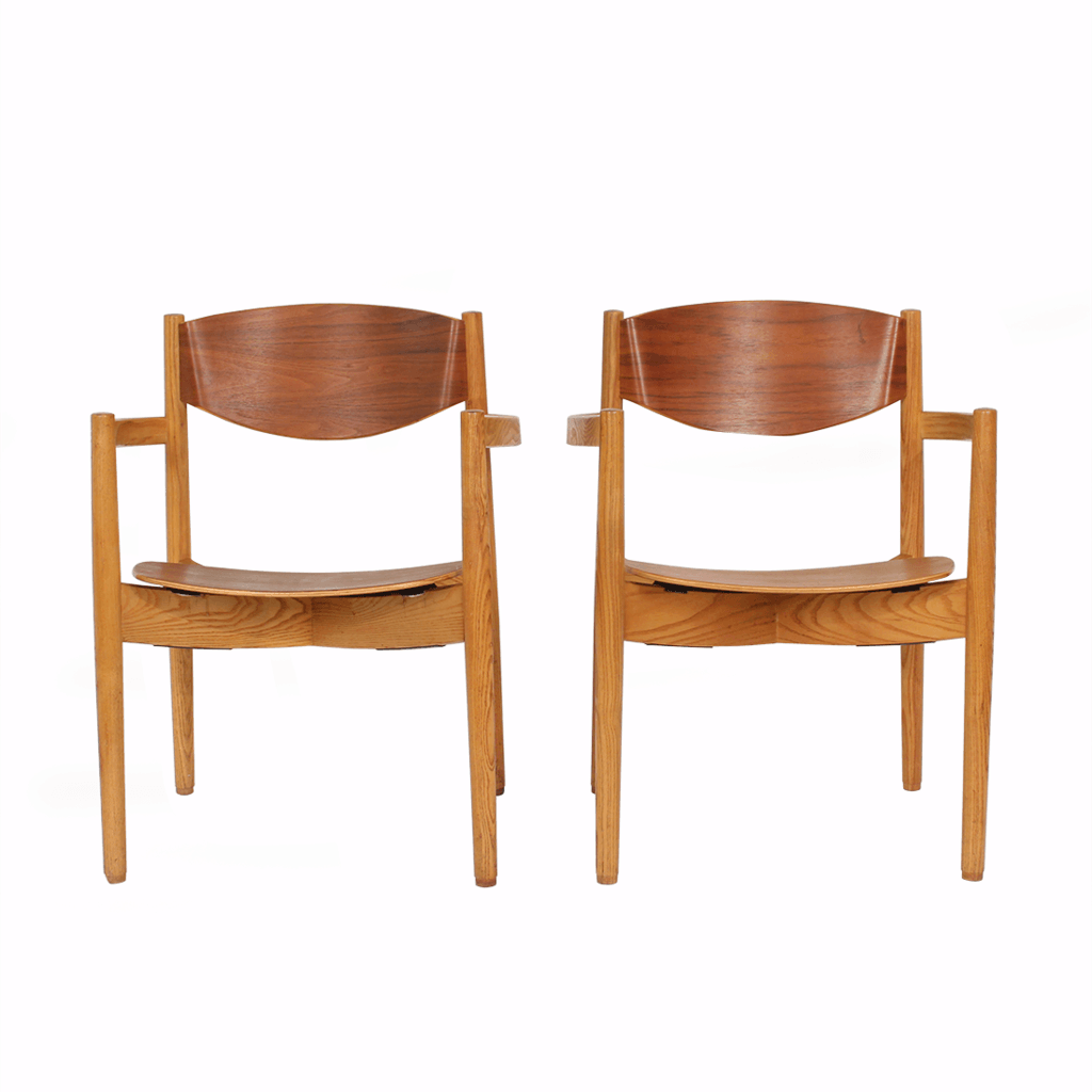 Jens Risom Stacking Chairs