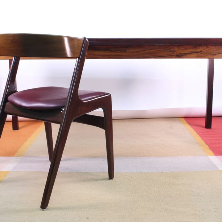 Rosewood refectory table