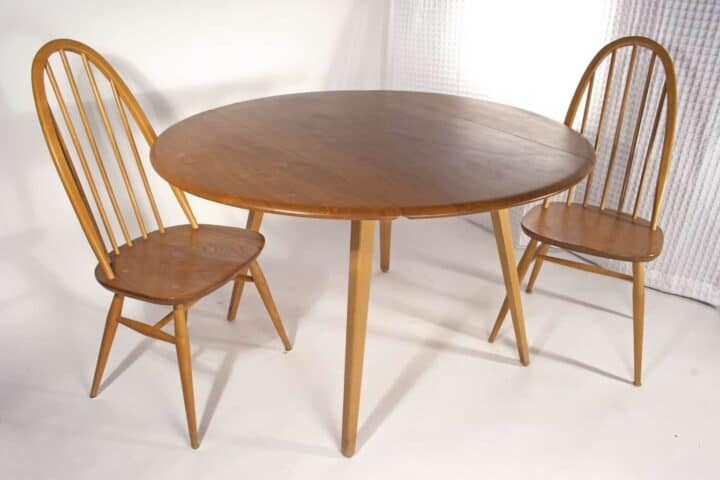 Ercol Table with 4 Chairs